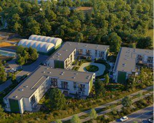 Oaza Mokotów, apartamenty, ul. Piaseczyńska 41