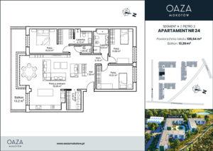 Oaza Mokotów Apartament 24