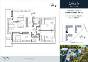 Oaza Mokotów Apartament 25