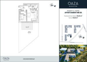 Oaza Mokotów Apartament 26