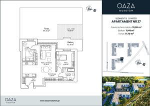 Oaza Mokotów Apartament 27