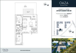 Oaza Mokotów Apartament 28