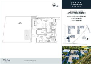Oaza Mokotów Apartament 30