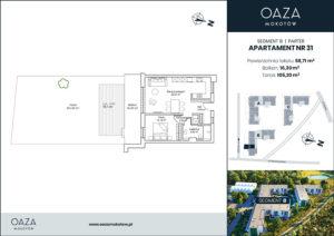 Oaza Mokotów Apartament 31