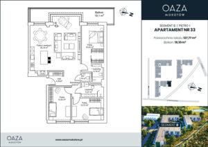 Oaza Mokotów Apartament 33