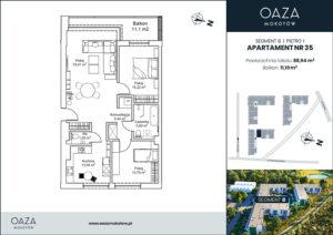 Oaza Mokotow apartament 35