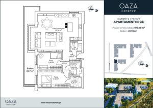 Oaza Mokotow Apartament 36