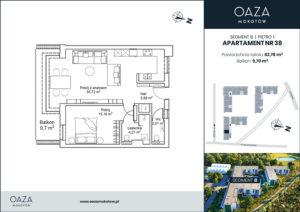 Oaza Mokotow Apartament 38