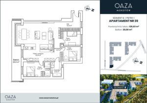 Oaza Mokotów Apartament 39