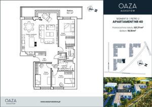 Oaza Mokotów Apartament 40