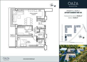 Oaza Mokotów Apartament 44