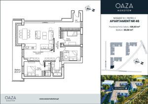Oaza Mokotow Apartament 46