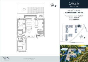 Oaza Mokotów Apartament 48