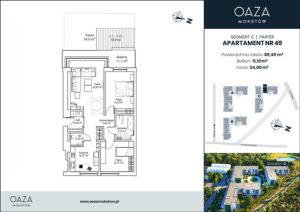 Oaza Mokotów Apartament 49
