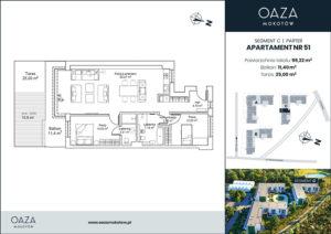 Oaza Mokotow Apartament 51