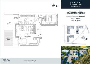 Oaza Mokotow Apartament 52