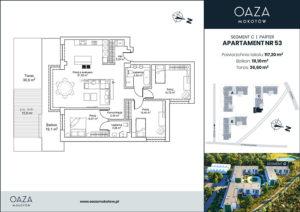 Oaza Mokotow Apartament 53