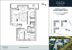 Oaza Mokotow Apartament 54