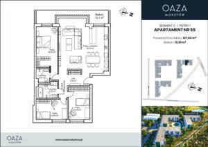 Oaza Mokotow Apartament 55