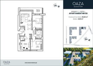Oaza Mokotow apartament 56