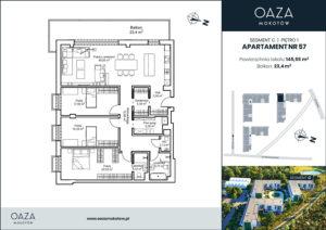 Oaza Mokotow apartament 57