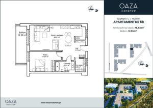 Oaza Mokotow apartament 58