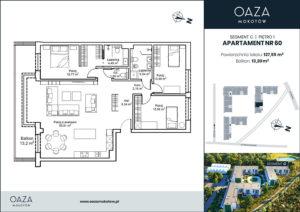 Oaza Mokotow_apartament 60
