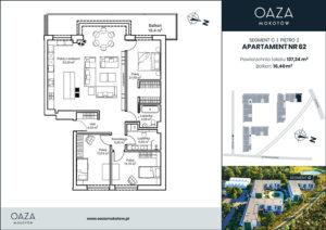 Oaza Mokotow Apartament 62