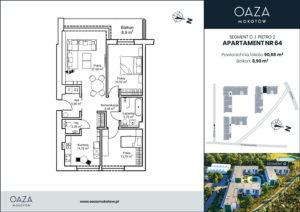 Oaza Mokotow_apartament 64